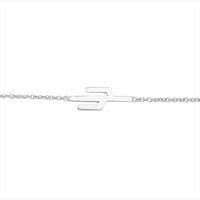Sølv ATLITW STUDIO Armbånd SOUVENIR BRACELET CACTUS  - medium