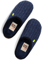 Blå HOT POTATOES Tøfler LEONDING JUNIOR  - medium