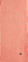 Lyserøde TOMMY HILFIGER Sjal ESSENTIAL KNIT SCARF  - medium
