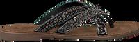 Sorte LAZAMANI Tøfler 75.526  - medium