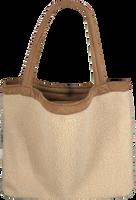Beige STUDIO NOOS Shoppingtaske TEDDY LAMMY MOM-BAG  - medium