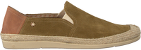 Grønne LA SIESTA Loafers KHAKI FARO  - medium