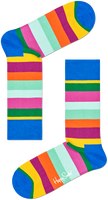 Flerfarvede HAPPY SOCKS Strømper STRIPE SOCK  - medium
