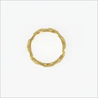 Guld NOTRE-V Ring RING SCHAKEL ONE SIZE  - medium