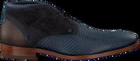 Blå REHAB Chikke sko SALVADOR ZIG ZAG  - medium