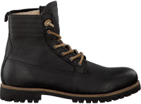 Sorte BLACKSTONE Ankelstøvler IM12  - medium