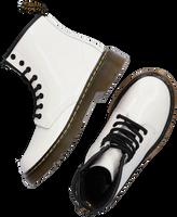 Hvide DR MARTENS Snørestøvler 1460 K  - medium