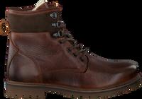 Cognac OMODA Snørestøvler 530076  - medium