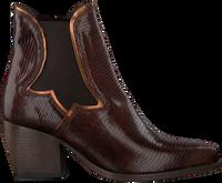 Brune VERTON Ankelstøvler 667-003  - medium