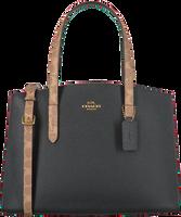 Sorte COACH Håndtaske BLOCKING CHARLIE CARRYALL  - medium