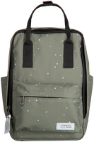 Grønne LITTLE INDIANS Rygsæk DOTS BACKPACK  - medium