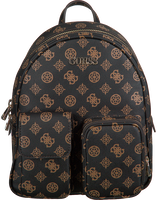 Brune GUESS Håndtaske UTILITY VIBE BACKPACK  - medium