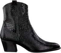 Sorte PERTINI Ankelstøvler 30251  - medium