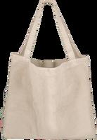 Hvide STUDIO NOOS Shoppingtaske RIB MOM-BAG  - medium