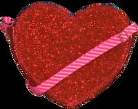 Røde LE BIG Skuldertaske SANDRA BAG  - medium