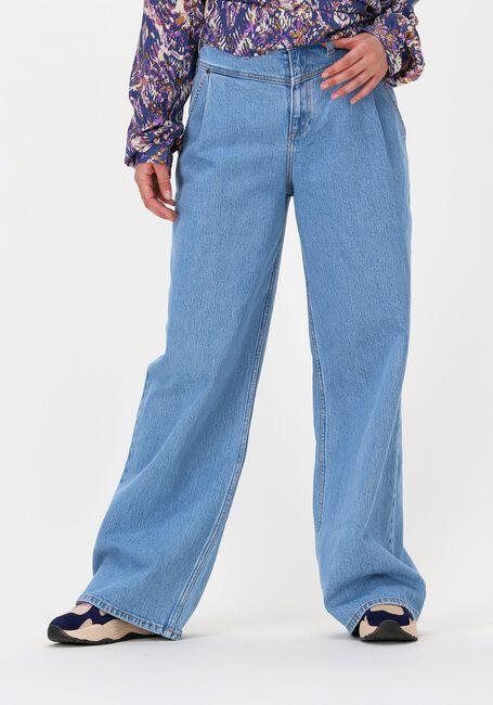 Lyseblå LEE Wide jeans STELLA A LINE YOKE  - large