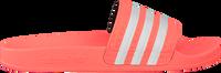 Lyserøde ADIDAS Badetøfler ADILETTE KIDS  - medium