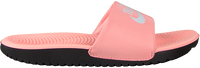 Lyserøde NIKE Badetøfler KAWA SLIDE GS/PS  - medium
