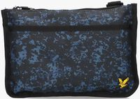 Blå LYLE & SCOTT Pung FLAT POUCH  - medium