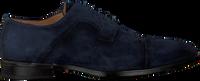 Blå MAZZELTOV Chikke sko 3817  - medium
