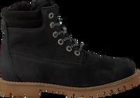 Sorte TON & TON Snørestøvler 4592N  - medium