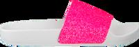 Lyserøde THE WHITE BRAND Badetøfler GLITTER MATTE  - medium