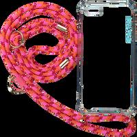 Lyserøde KASCHA-C Telefonrem PHONECORD IPHONE 7+/8+  - medium