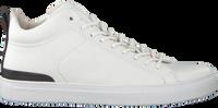 Hvide BLACKSTONE Højskaftede sneakers RM14  - medium