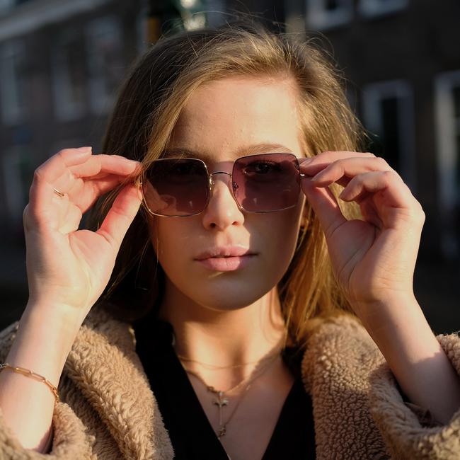 Lyserøde IKKI Solbriller ADELE  - large