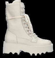 Hvide NUBIKK Snørestøvler FARA NOIR  - medium
