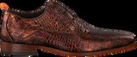 Cognac REHAB Chikke sko GREG CROCO  - medium