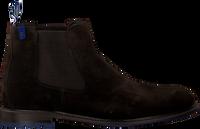 Brune FLORIS VAN BOMMEL Chelsea boots 10902  - medium