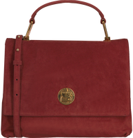 Røde COCCINELLE Håndtaske LIYA SUEDE  - medium