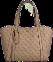 Brune GUESS Shoppingtaske NAYA TRAP TOTE  - medium