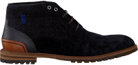 Blå FLORIS VAN BOMMEL Snørestøvler 20228  - medium
