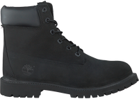 Sorte TIMBERLAND Snørestøvler 6IN PRM WP BOOT KIDS  - medium