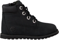 Sorte TIMBERLAND Snørestøvler POKEY PINE 6IN BOOT KIDS  - medium