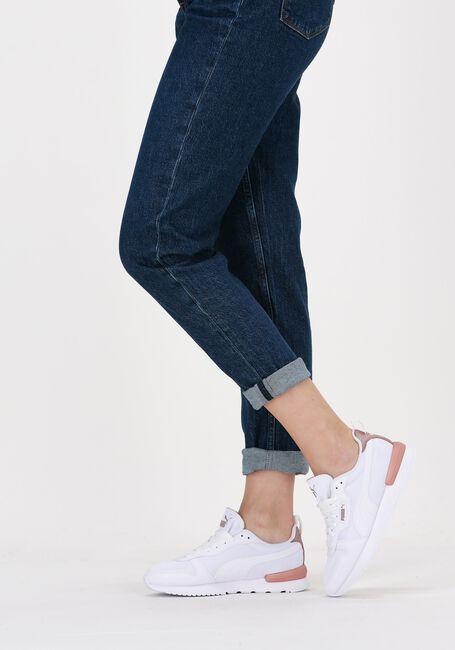 Hvide PUMA Lavskaftede sneakers PUMA R78 WNS METALLIC POP  - large