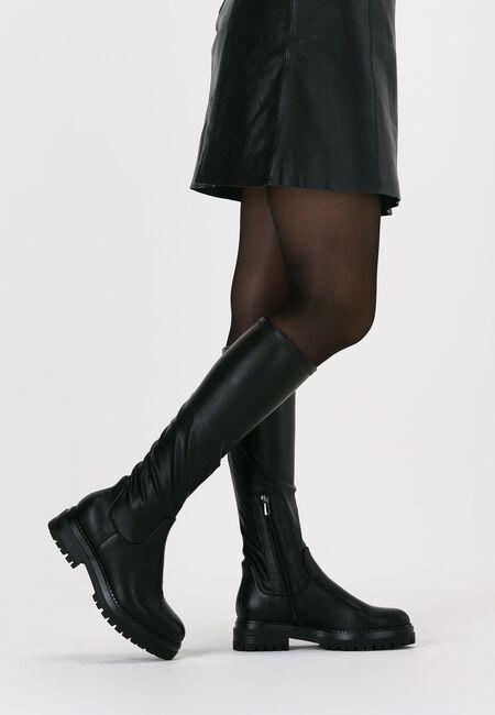 Sorte OMODA Lange støvler C0358  - large