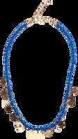 Blå LE BIG Halskæde NIGELLA NECKLACE  - medium