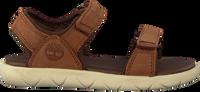 Brune TIMBERLAND Sandaler NUBBLE SANDAL LTHR 2 STRAP  - medium