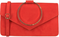 Røde UNISA Clutch ZGRANA  - medium
