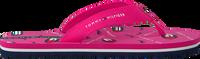 Lyserøde TOMMY HILFIGER Flipflops LIPS PRINT FLIP FLOP  - medium