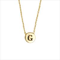 Guld ATLITW STUDIO Halskæde CHARACTER NECKLACE LETTER GOLD  - medium
