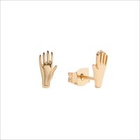 Guld ATLITW STUDIO Ørering PARADE EARRINGS HAND  - medium