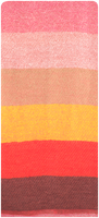 Røde NOTRE-V Sjal CORTNEY  - medium