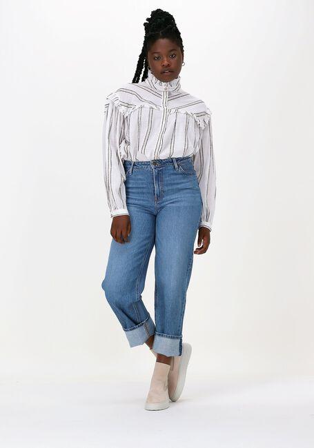 Lyseblå LEE Wide jeans WIDE LEG LONG  - large