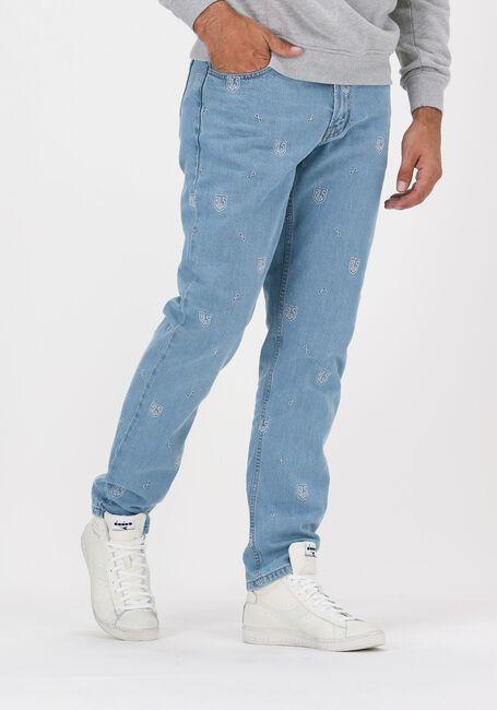 Blå BLS HAFNIA Straight leg jeans NEW ALL OVER JEANS - large