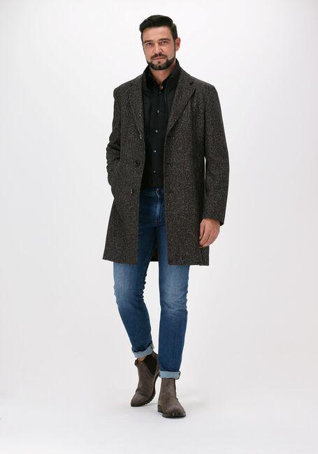 Sorte BOSS Klassisk skjorte P-HANK-SPREAD-214 10151300 01 - large