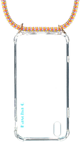 Flerfarvede KASCHA-C Telefonrem PHONECORD IPHONE XS MAX  - medium